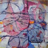 Acrylic on canvas: 130 x 130 cm. Artexpo New York, 2012